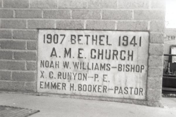 Cornerstone of the Bethel AME Church