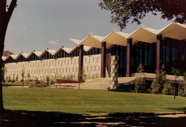 Nobel H. Getchell Library, ca 1965