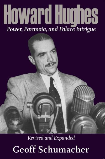 Book cover showing a picture of Howard Hughes